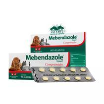 Mebendazole Para Cães E Gatos Vetnil Blister C/10 Comprimidos -