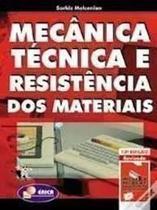 Mecânica Técnica E Resistência Dos Materiais - Erica