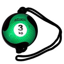 Medicine Ball 3Kg com Corda - Oneal