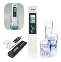 Medidor Condutividade Condutivímetro Tds E Ec + Aquário Água - Bmax