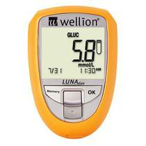 Medidor de Colesterol e Glicose Luna Duo - Wellion -