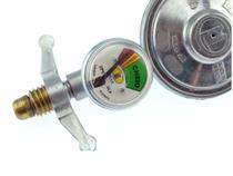 Medidor De Gás Manômetro Registro Regulador Válvula Cozinha - IMAR
