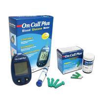 c2d19d156 Medidor de Glicose + 50 Tiras para medição de Glicose - On Call Plus