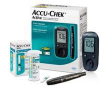 Medidor de Glicose Accu-Chek Active kit - Roche -