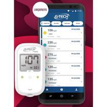 Medidor De Glicose Free Smart  + 110 Tiras + 110 Lancetas - G-tech