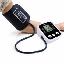 Medidor de Pressão Arterial Automático Digital de Braço com Resultado em Voz + Carregador - Boas