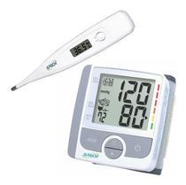 Medidor De Pressão Arterial Digital + Termômetro - G-Tech