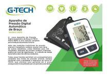 Medidor De Pressão Arterial G-tech Bsp11 + Braçadeira - Gtech