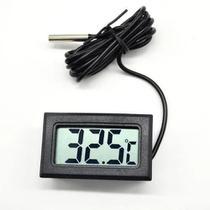 Medidor De Temperatura Digital Com Sensor Externo Termômetro - LCA