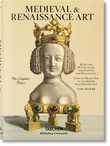 Medieval & Renaissance Art : The Complete Plates Carl Becker Taschen Importado Multílingue Capa Dura -