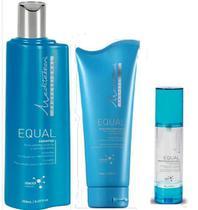 Mediterrani Equal Sh 250ml + Másc 200g + Shine Gloss 50ml -