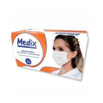 Medix Máscara Cirúrgica C/ Elástico C/50 -