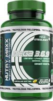 Mega 3 6 9 - Óleo de cártamo, girassol, linhaça, gergelim e borragem - 120 cáps 1000mg - Melcoprol -