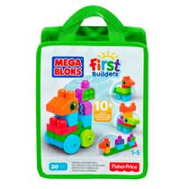 Mega Bloks - Sacola Aventuras Animais 20 Peças - Fisher Price -
