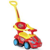 Mega Car com Empurrador Homeplay Vermelho - 4258 -