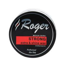 Mega Cera Strong Extra E Shine Wax Roger 250gr -
