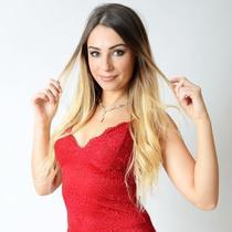 MEGA HAIR ADESIVO Cabelo Humano Liso Gisele 55 cm - BELLA HAIR