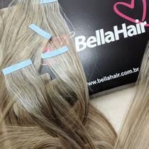 MEGA HAIR ADESIVO Cabelo Humano Liso Yasmin 65 cm - Bella Hair