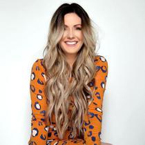 MEGA HAIR ADESIVO Humano Liso Ticiane 65 cm - Bella Hair