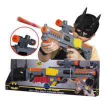 Mega Lança Dardos e Máscara Batman - Rosita - Brinquedos Rosita