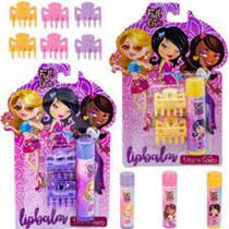 Mega Maquiagem Kit Fall in Love com Lip Balm + Acessórios Discoteen -