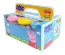Mega Massinha Com 6 Peppa Pig - Sunny 1853 - Brinquedos