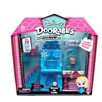 """Mega Playset E Mini Figura - Disney - Doorables - 3 Cenários - Dtc - Dtc, """"Disney"""""""