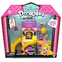 Mega Playset e Mini Figura - Disney - Doorables - Torre Da Rapunzel - Dtc -