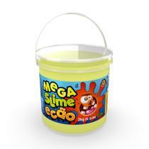 Mega Pote de Slime Ecão - 2Kg - Amarelo - DTC -