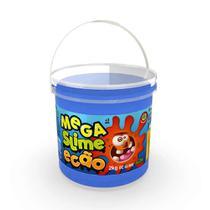 Mega Pote de Slime Ecão - 2Kg - Azul - DTC -