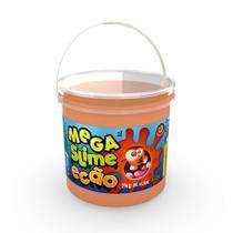 Mega Pote de Slime Ecão - 2Kg - Laranja - DTC -