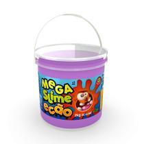 Mega Pote de Slime Ecão - 2Kg - Roxo - DTC -