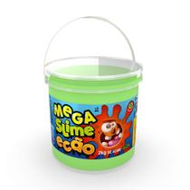 Mega Pote de Slime Ecão - 2Kg - Verde - DTC -