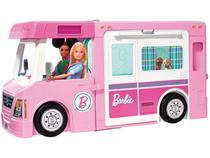 Mega Trailer dos Sonhos Barbie Mattel - com Acessórios