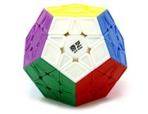 Megaminx Qiyi Color - Cubo Mágico 12 Lados - Cuber Brasil -