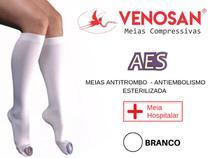 Meia 3/4 Antitrombo Antiembolia 18mmHg Esterilizada Venosan -