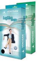 Meia Coxa Com Silicone Legline 15 ( 20-30mmHg) Fechado - Venosan -