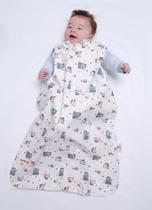Meia Estação - M 3 - 6 meses - ODIN - Saco de Dormir Bebê - Cookie Kids