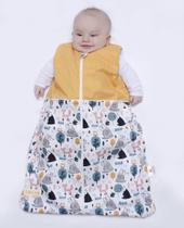 Meia Estação - M 3 - 6 meses - TRYG - Saco de Dormir Bebê - Cookie Kids