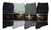 Meia social kit 12 pares masculina sport fino  algodão - Hangar Moriah