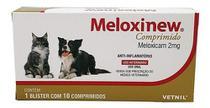 Meloxinew 2mg 10 Comprimidos Vetnil Anti-inflamatório -