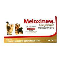 Meloxinew Comprimido Anti-Inflamatorio 10 Comprimidos - Vetnil