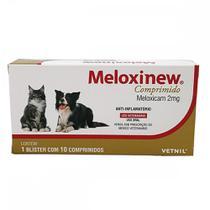 Meloxinew meloxicam 2 mg 10 comprimidos - Vetnil