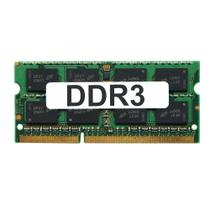 Memória 4GB DDR3 1333Mhz Dual Rank 16 Chips para Notebooks - Genérica