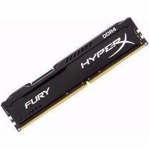 Memória 8Gb DDR4 2400mhz Gamer Hyperx Fury Kingston -