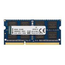 Memória 8GB Notebook Kingston DDR3 FSB1600 KVR16S11/8 -