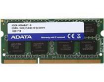Memoria ADATA P/ Notebook 8GB (1X8GB) DDR3L 1600MHZ Sodimm - ADDS1600W8G11-S -