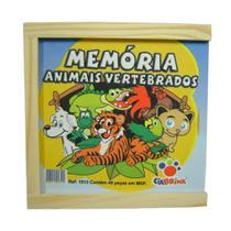 Memoria Animais Vertebrados 40 Pcs - 1013 - Ciabrink