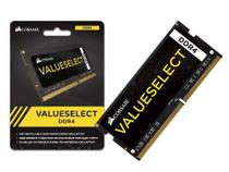Memória Corsair Valueselect 16GB DDR4 2133MHz pARA NOTEBOOK  CMSO16GX4M1A2133C15 -