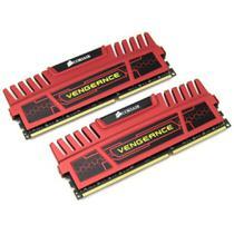Memória DDR3 -  8GB (2x 4GB) / 1.600MHz - Corsair Vengeance - CMZ8GX3M2A1600C9R -